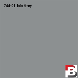 Snijfolie Plotterfolie Avery Dennison PF 744-01 Tele Grey