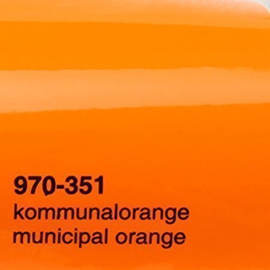 Wrap Folie Oracal Premium 970-351 - Gemeentelijk Oranje