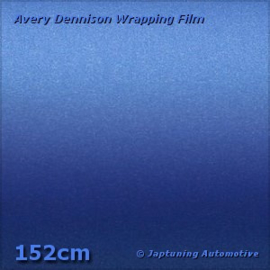 Avery Supreme Wrapping Film Mat Metallic Brilliant Blue