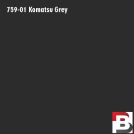 Snijfolie Plotterfolie Avery Dennison PF 759-01 Komatsu Grey