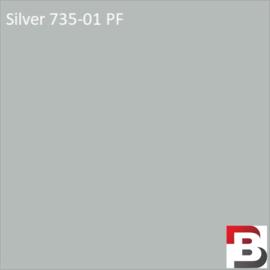 Snijfolie Plotterfolie Avery Dennison PF 735-01 Silver