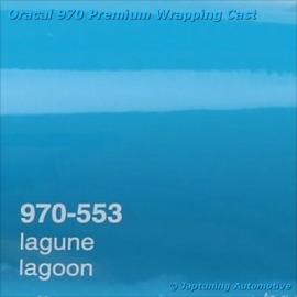Wrap Folie Oracal Premium 970-553 - Lagune Blauw / Groen