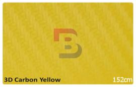 Wrapfolie 3d Carbon Geel