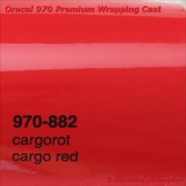 Wrap Folie Oracal Premium 970-882 - Cargo Rood