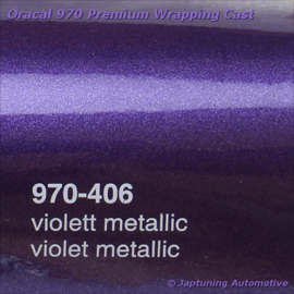Wrap Folie Oracal Premium 970RA-406 Violet Metallic