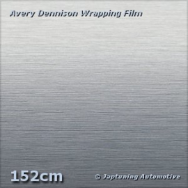 Avery Supreme Wrapping Film Brushed Aluminium Silver