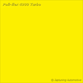 Poli-Flex Turbo Kleding folie -  Yellow 4910