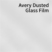 Avery Dusted Glass Film