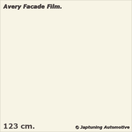 Avery Facade Film Cream Gloss - RAL 9001