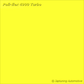 Poli-Flex Turbo Kleding folie - Neon Yellow 4940