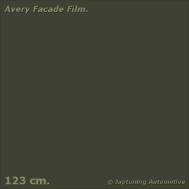 Avery Facade Film Umbra Grey Lustre  Matt - RAL 7022