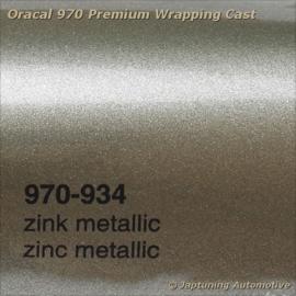 Wrap Folie Oracal Premium 970RA-934 Zinc Metallic