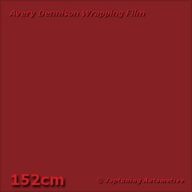 Avery Supreme Wrapping Film Gloss Burgundy Red