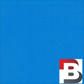 Snijfolie Plotterfolie Avery Dennison 510 Bright Blue