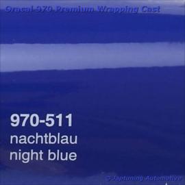 Wrap Folie Oracal Premium 970-511 - Nacht Blauw