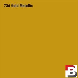 Snijfolie Plotterfolie Avery Dennison PF 736 Gold Metallic