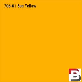 Snijfolie Plotterfolie Avery Dennison PF 706-01 Sun Yellow