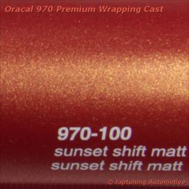 Wrap Folie Oracal Premium 970-100M - Sunset Shift Mat
