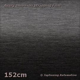 Avery Supreme Wrapping Film Brushed Aluminium Black