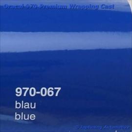Wrap Folie Oracal Premium 970-067 - Blauw