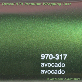 Wrap Folie Oracal Premium 970RA-317 Avocado