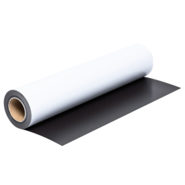 Magneetfolie 0,65mm Wit Mat 62cm breed
