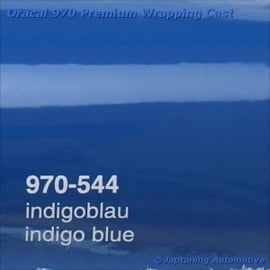 Wrap Folie Oracal Premium 970-544 - Indigo Blauw