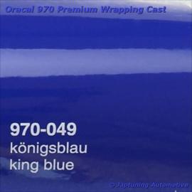 Wrap Folie Oracal Premium 970-049 - Konings Blauw