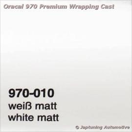 Wrap Folie Oracal Premium 970-010M - Mat Wit