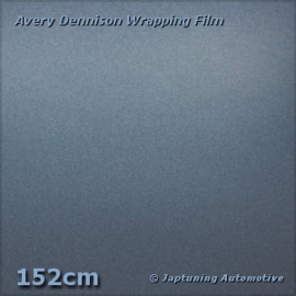 Avery Supreme Wrapping Film Mat Satin Metallic Grey Blue