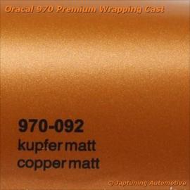 Wrap Folie Oracal Premium 970-092 - Mat Koper