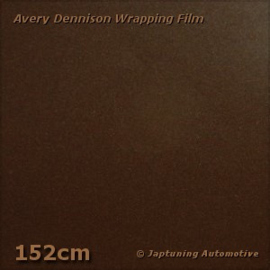 Avery Supreme Wrapping Film Satin Metallic Hans Brown