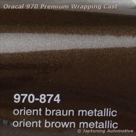 Wrap Folie Oracal Premium 970-874 - Orient Bruin Metallic