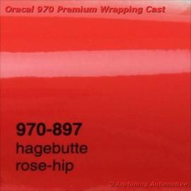 Wrap Folie Oracal Premium 970-897 - Rozenbottel Rood
