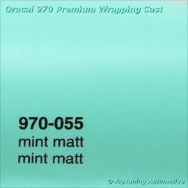Wrap Folie Oracal Premium 970-055 - Mat Mint