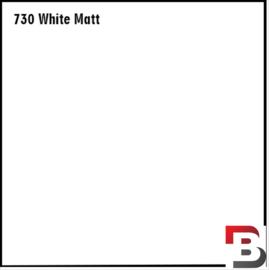Snijfolie Plotterfolie Avery Dennison PF 730 Matt White