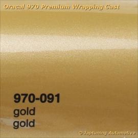Wrap Folie Oracal Premium 970-091 - Goud Metallic