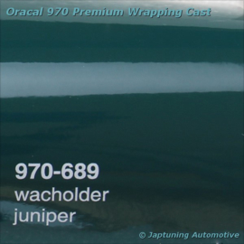 Wrap Folie Oracal Premium 970-689 - Jenever Groen