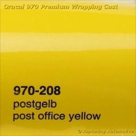 Wrap Folie Oracal Premium 970-208 - Postkantoor Geel