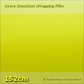 Avery Supreme Wrapping Film Gloss Ambulance Yellow