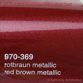Wrap Folie Oracal Premium 970RA-369 Red Brown Metallic