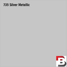 Snijfolie Plotterfolie Avery Dennison PF 735 Silver Metallic