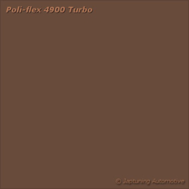 Poli-Flex Turbo Kleding folie - Brown 4916