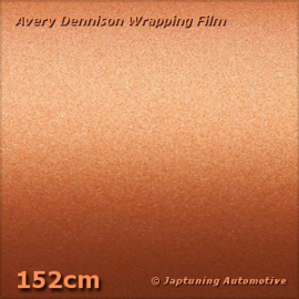 Avery Supreme Wrapping Film Mat Metallic Blaze Orange