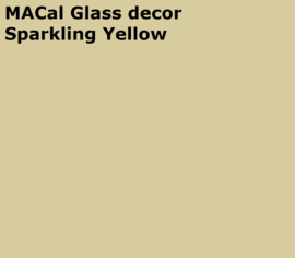 MACal GlassDecor Sparkling Yellow