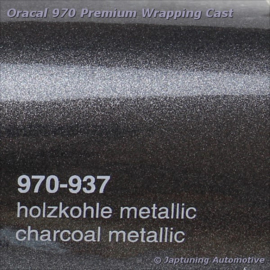 Wrap Folie Oracal Premium 970RA-937 Charcoal Metallic