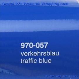 Wrap Folie Oracal Premium 970-057 - Verkeers Blauw