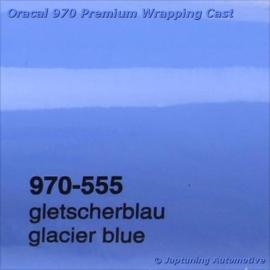 Wrap Folie Oracal Premium 970-555 - Gletsjer Blauw