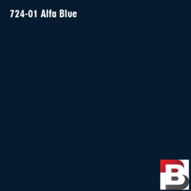 Snijfolie Plotterfolie Avery Dennison PF 724-01 Alfa Blue