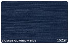 Wrap folie Brushed Aluminium Donker Blauw